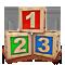 Кубики 1,2,3