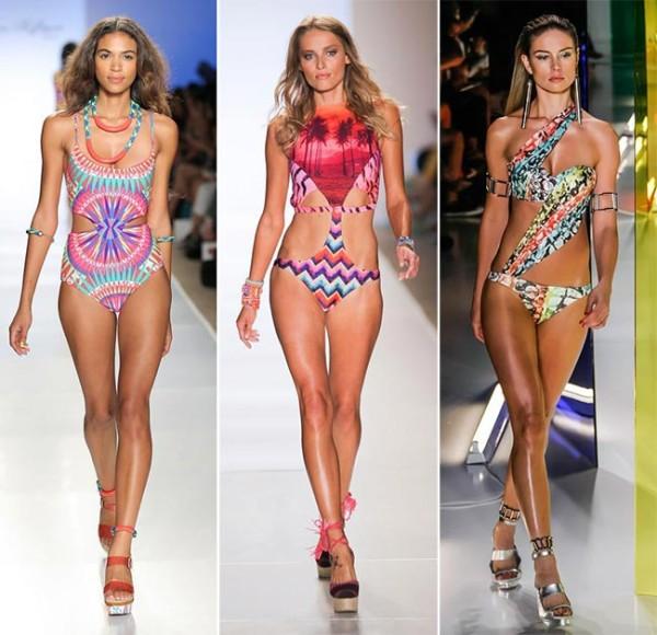 Модельеры подчеркивают, что помимо купальника, на его обладательнице обязательно должны быть украшения, это главный атрибут пляжной моды 2015