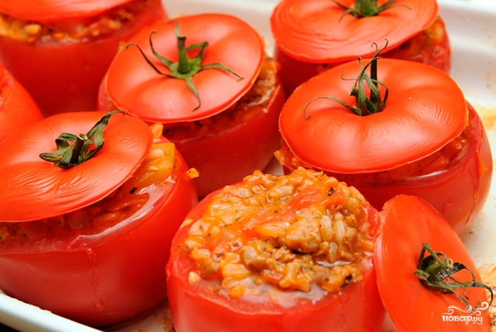 Вкусные рецепты из помидоров