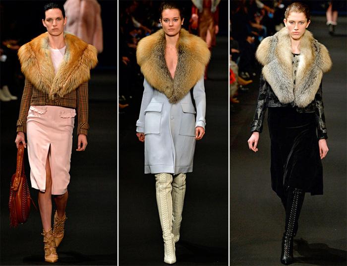Модные меха осени и зимы