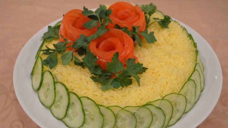 Рецепты салатов и закусок из простых продуктов