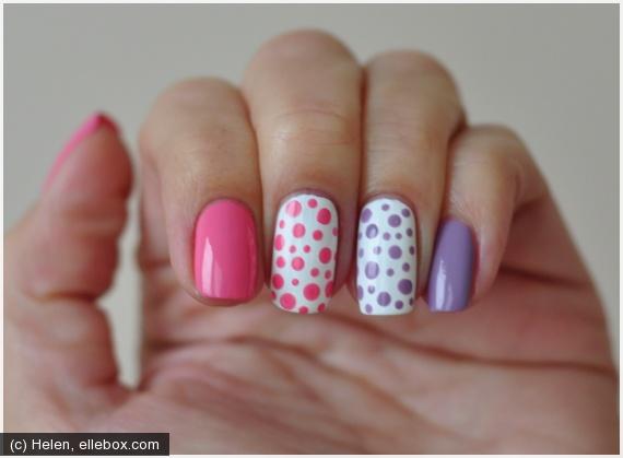 Фото дизайн ногтей точки
