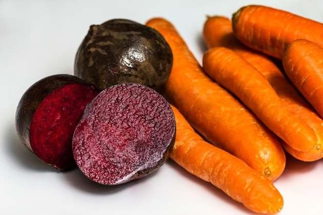Морковь с свеклойы