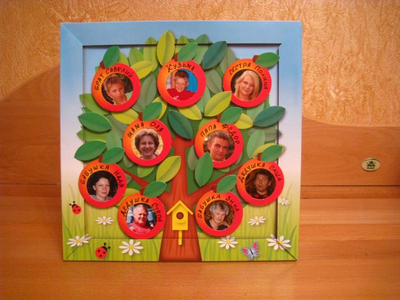 Генеалогическое древо для детского сада своими руками