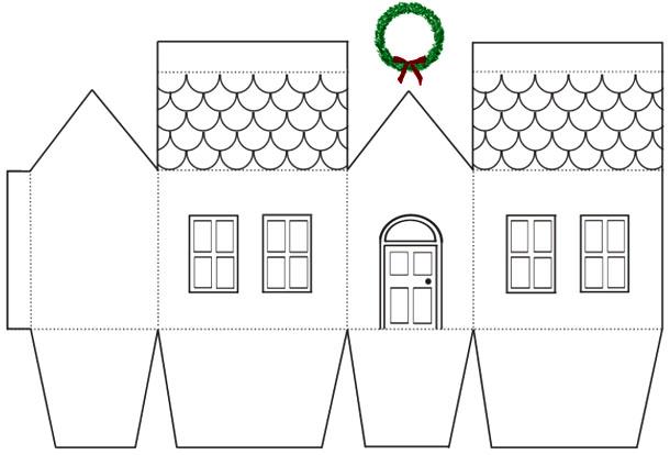 Как из бумаги сделать дом