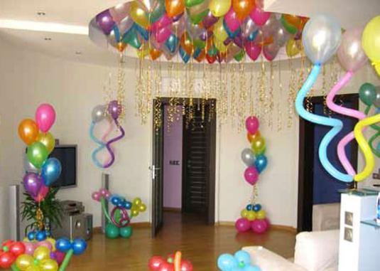 Красиво оформить комнату ребенку на день рождения своими руками