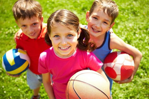 Дети летом фото и картинки