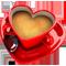 Кофе в сердце