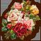 Розы цветные