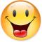 Смайлик с языком