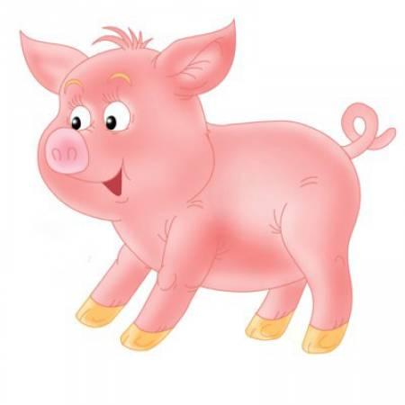 свинья картинка для детей
