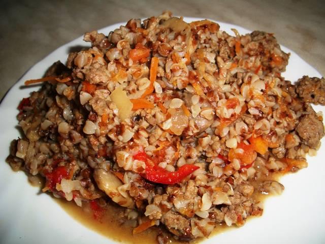 Гречка с помидорами рецепт с фото