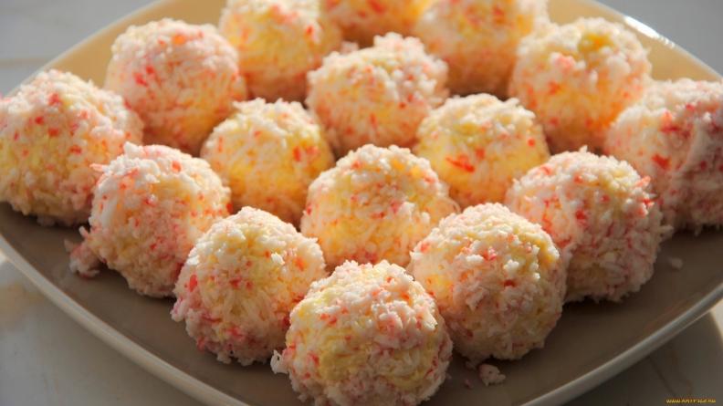 Закуски сырные шарики на ютубе