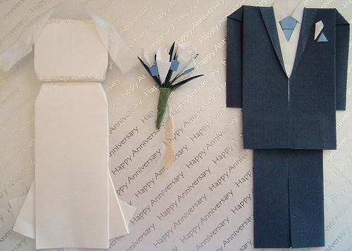 Своими руками бумажная поделка к бумажной свадьбе