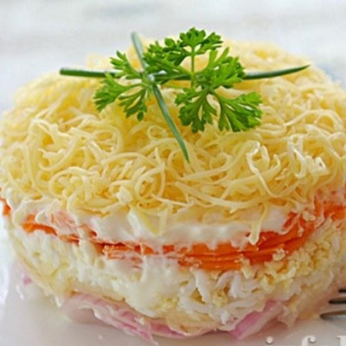 Салат нежность рецепты с фотографиями